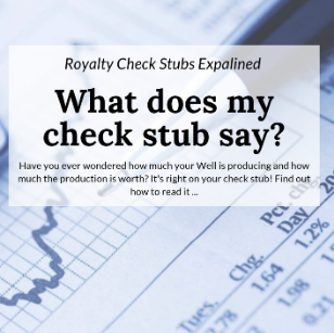 Learn about your royalty check stub with the help of our Oklahoma Gas Law lawyer.